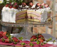 Inspirational Erdbeer Knispel Torte