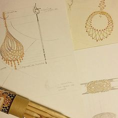 Lapa Collection. #MaxiorPinterest #jewel #jewelry #design #art #drawing #project