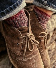 adorable... but more importantly, I would kill for some ankle wool socks! What!