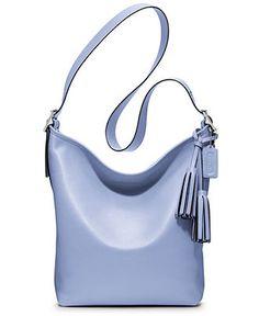 COACH LEGACY LEATHER DUFFLE - Coach Handbags - Handbags \u0026 Accessories -  Macy\u0027s