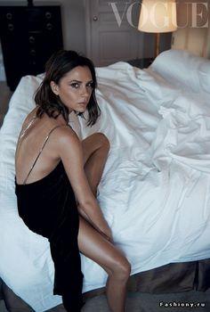 Виктория Бекхэм в сентябhьском Vogue