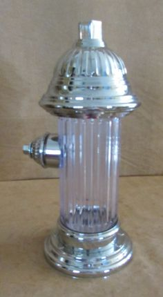 "Godinger Silver Art Co. Fire Hydrant Liquor Dispenser alcohol pump 14"" man cave #Godinger"