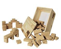 Cork Buiding block via Petits petits tresors