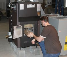 Kuuma Vapor-Fire High Efficiency Wood Gasification Furnaces by Lamppa Manufacturing Inc.