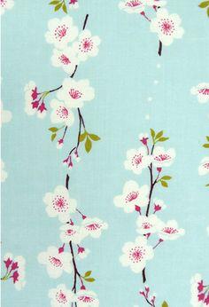 Japanese Tenugui Fabric Cherry blossom Sakura by JapanLovelyCrafts