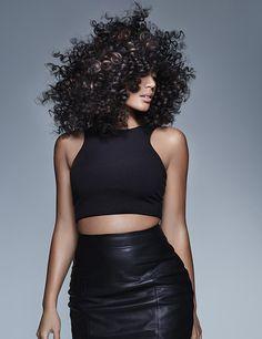 Looking for curly/natural hair inspiration? When it comes to curls, the bigger the better we always think! Love these glossy natural curls with a hint of colour to add definition. From Francesco Group's 2016 Collection. Natural Curls, Natural Hair Styles, Wavy Hair, New Hair, Hair Color And Cut, Natural Hair Inspiration, Afro Hairstyles, Hairdresser, Hair Cuts