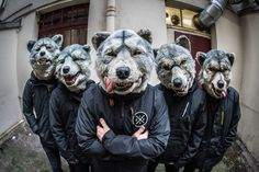 Man With A Mission : When My Devil Comes  Man with a Mission (stylized MAN WITH A MISSION) is a Japanese alternative pop band with features of hard rock and dance pop that was formed in 2010 in Shibuya, Japan.