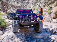 Gmc 4x4, Jeep 4x4, Jeep Truck, Trucks And Girls, Car Girls, Big Trucks, Jeep Rubicon, Jeep Wrangler Unlimited, Jeep Trails