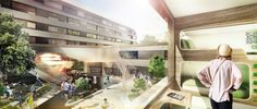 based on the idea of 'experiencing community', german architecture studio graft has won a competition to redevelop one of germany's oldest youth hostels.