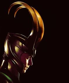 "Loki. Tom Hiddleston said in an interview that Loki's horns are bigger in the ""Avengers"" than in ""Thor"" because Loki is angrier. He then went on to joke that by ""Avengers 3"" he'd be like a ""magic elk""."