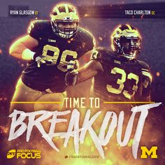 Michigan Football features 2 defensive linemen on Pro Football Focus' Top 25 Breakout Players list for 2016 | Link to article here: https://www.profootballfocus.com/college-football-top-25-breakout-players-2016