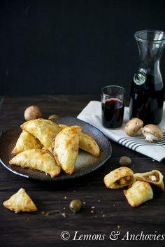 Chicken & Mushroom Empanadas {Baked}   Lemons & Anchovies Blog
