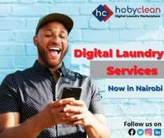 Are you looking for a quick and convenient laundry service around Nairobi? Well, @HobyClean has simplified everything for you. All you have to do is download mobile on the Play Store to get started with placing orders. To know more 👉Subscribe, download our HobyClean Customer app or call us at +256776515244 or 🔗www.hobyclean.com #Hobyclean #stains #stainremoval #laundry #laundryservice #laundryday #laundrykiloan #laundrycoin #laundryekspress #laundryroom #laundrytime #coinlaundry #speedqueen # Coin Laundry, Laundry Room, Online Laundry, Laundry Service, Nairobi, Stains, App, Play, Store