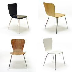 Giveaway : Win 4 Right On Plywood Chairs Offered By Inmod Great Pictures
