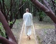 Image result for Path for walking meditation