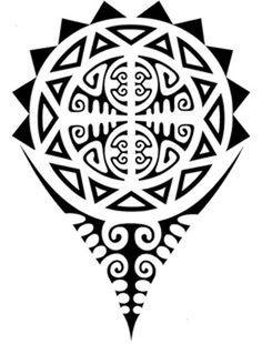 Картинки по запросу полинезия эскизы на плече