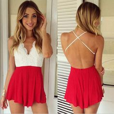 Encontrar Más Monos para perro Información acerca de Las mujeres atractivas Backless Halter V cuello Bodycon Playsuit Clubwear mono mameluco SML, alta calidad Monos para perro de Wholesale Big Deal en Aliexpress.com