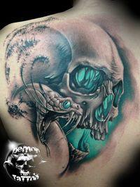 Demon Tattoo - https://www.facebook.com/tatuajesdemon