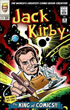 Jack Kirby and Stan Lee... my favorite two dudes in comics