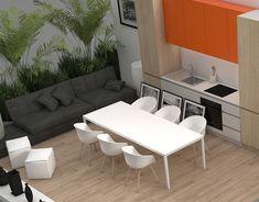 Vodafone Store - POP materials on Behance Graphic Design Print, Outdoor Furniture Sets, Outdoor Decor, Living Room Kitchen, Dining Bench, Furniture Design, Behance, Interior Design, Table