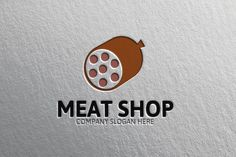 Meat Shop Logo by Josuf Media on Creative Market