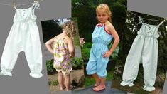Nähanleitung Sommerhose Overal Jumpsuit bei Makerist