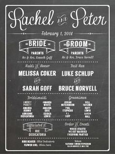 Printable Wedding Program Sign Custom Party By Helloloveco Place Cards Pinterest Signs Parties And