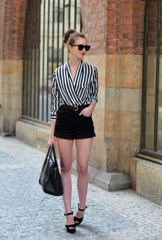 VOGUE HAUS: STRIPES AND SHORTS