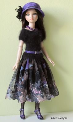 OOAK Ensemble for Ellowyne, by *evati* via eBay ends 11/11/13