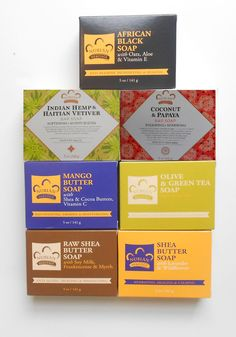 Nubian Heritage - (7 Pack)   Assorted Bar  Shea Butter Soaps 5oz  - as Shown #NubianHeritage