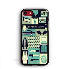 Buy Collage Art Supernatural phone cases for iPhone best friend phone case