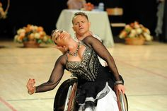 Wheelchair dancing dance costume