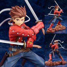 AmiAmi [Character & Hobby Shop] | Tales of Symphonia - Lloyd Irving 1/8 Complete Figure(Released)