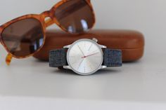 Discover the beauty of the Winston Heritage Chambray watch!