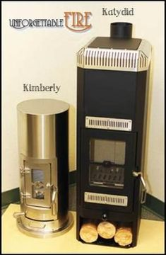 Katydid Wood Stove & The Kimberly Wood Stove: more than just a top of the line wood stove gasifier. Best Heater for your RV, Tiny House, Cabin, or Boat. A Leader in Mini Wood Stoves