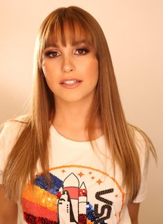Carla Diaz, Crushes, T Shirts For Women, Girls, Hair, Fashion, Look Alike, Beleza, Little Girls