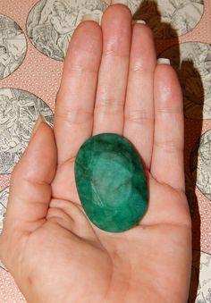 GENUINE EMERALD  Genuine Earth-mined Emerald  204 ct by esoTERRAca