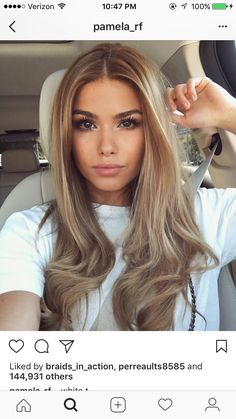 The natural makeup really compliments the hair tones Miladies net is part of Tone hair - Summer Hairstyles, Pretty Hairstyles, Coiffure Hair, Brown Blonde Hair, Light Hair, Balayage Hair, Bayalage, Gorgeous Hair, Hair Looks