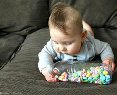 House of Burke: Conversation Heart Sensory Play for Baby