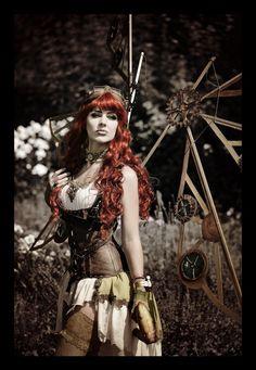 steampunk clothing | Steampunk Fashion Women / Steampunk woman fashion http://fairytas.com