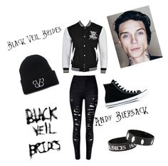 """""""BVB"""" by corpseskeleton ❤ liked on Polyvore featuring art"""