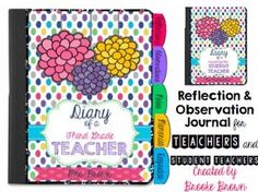 Reflection and Observation Journal for Teachers and Student Teachers!