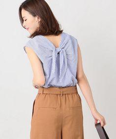 シャツ・ブラウス Fasion, Ruffle Blouse, Shirts, Tops, Women, Style, Sewing, Shell Tops, Fashion