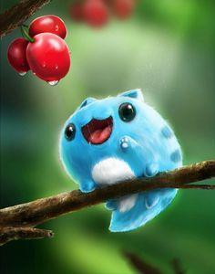 Un bugcat so kawaii super réaliste ! Cute Animal Drawings, Kawaii Drawings, Cute Drawings, Cute Fantasy Creatures, Cute Creatures, Mythical Creatures, Anime Kunst, Anime Art, Arte 8 Bits