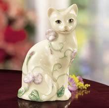 Lenox Garden Cat  Cat Sculpture