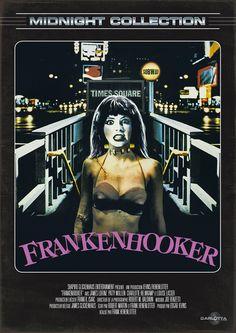 #Bluray #Frankenhooker Relecture comico-trash de #Frankenstein #FrankHenenlotter