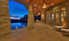 custom home in belvedere, bee cave | Design Visions