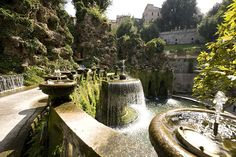 The gardens at Villa d'Este in Italy. I don't think a day will be enough here ; ))