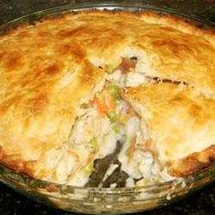 Thought I would share,  recipe to make Chicken Pot Pie