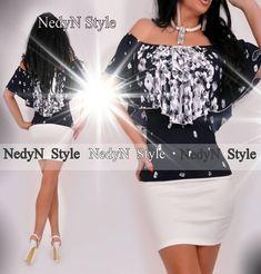 Dámske elegantné tričko Peplum Dress, Dresses, Style, Fashion, Tunics, Gowns, Moda, La Mode, Peplum Dresses